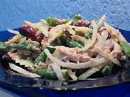 Салат с тунцом и макаронами