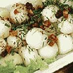 Клецки из отварного картофеля