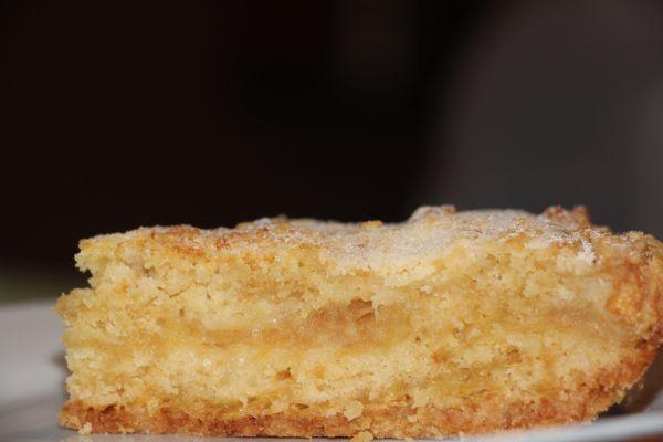 Яблочный пирог из