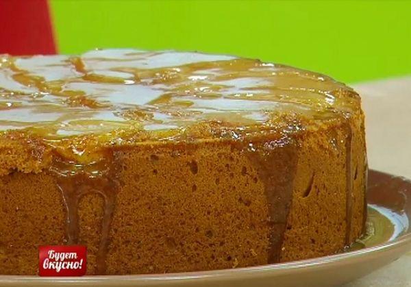Имбирно-грушевый торт
