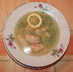 Рыбный суп с клёцками
