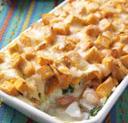 Рыба, тушенная с картофелем и яблоками
