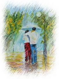 Дождь прошел... Галина Тимошенко-Терещенко (философская лирика)
