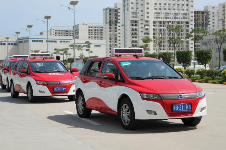 Китайцы создали крупнейший парк электромобилей в мире