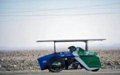 Солнечные автомобили в гонке по самой засушливой пустыне в мире