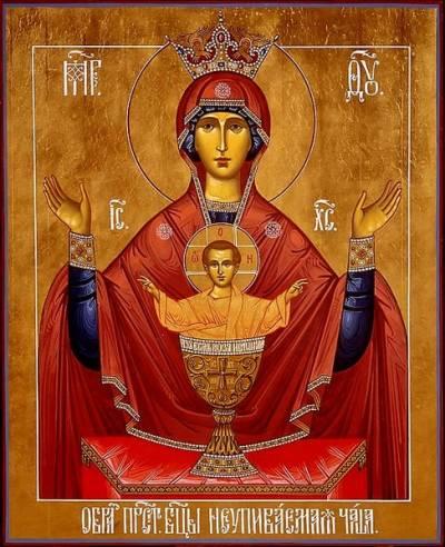Крестный ход на праздник иконы «Неупиваемая чаша»